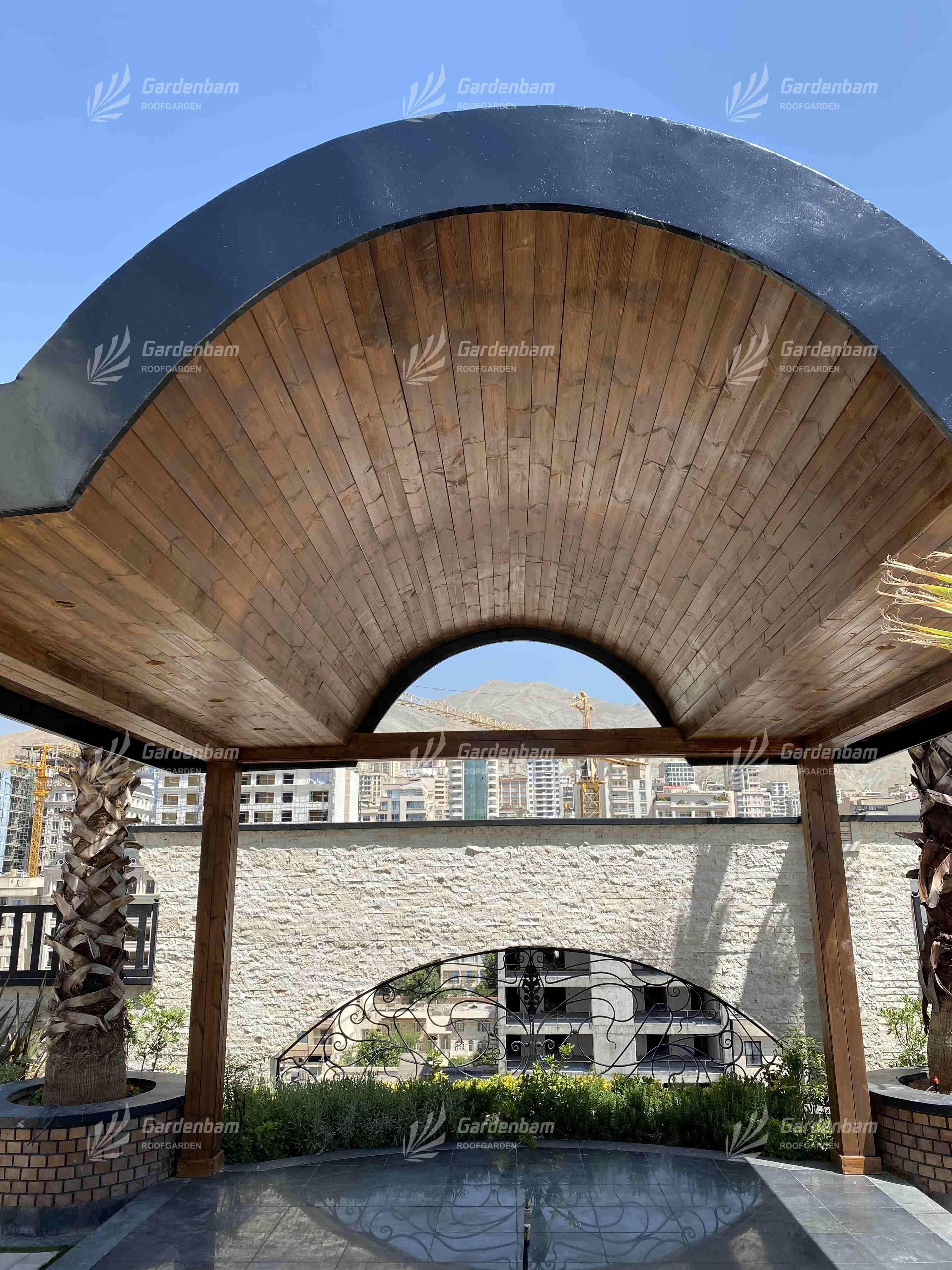 پروژه بام سبز شرکت گاردن بام-سعادت اباد