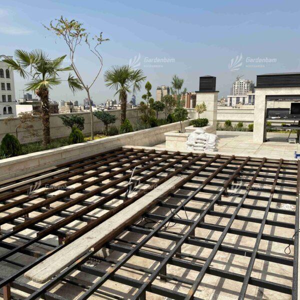روف گاردن | طراحی و اجرای روف گاردن شرکت گاردن بام-سعادت آباد