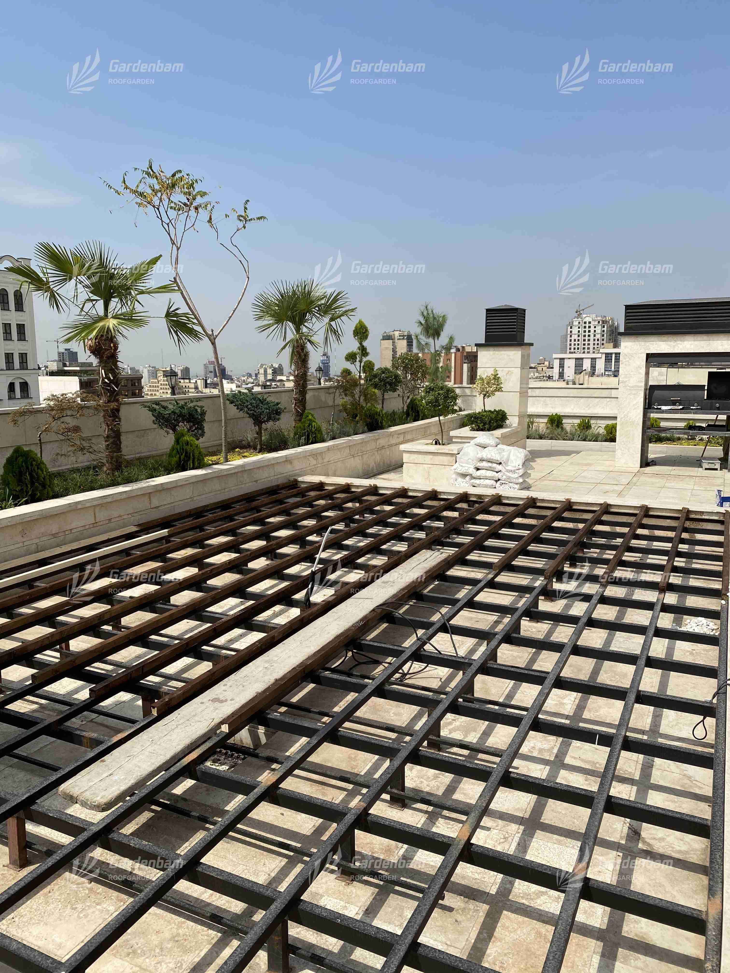روف گاردن   طراحی و اجرای روف گاردن شرکت گاردن بام-سعادت آباد