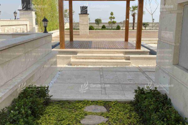 باغ بام | روف گاردن | بام سبز طراحی و اجرای روف گاردن-آلاچیق شرکت گاردن بام-سعادت آباد