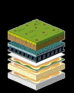 بام سبز | انواع روف گاردن | بام سبز | روف گاردن | روف گاردن گسترده | بام سبز و لنداسکیپ شرکت گاردن بام- آبنما