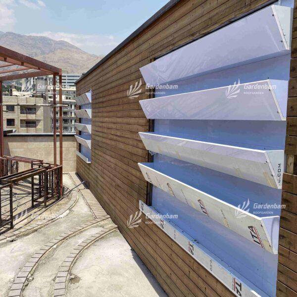 پروژه روف گاردن | شرکت مجری روف گاردن ( بام سبز) |دیوارسبز | گرین وال | گاردن بام | مشاور و مجری دیوارسبز و بام سبز | محوطه سازی (لنداسکیپ)