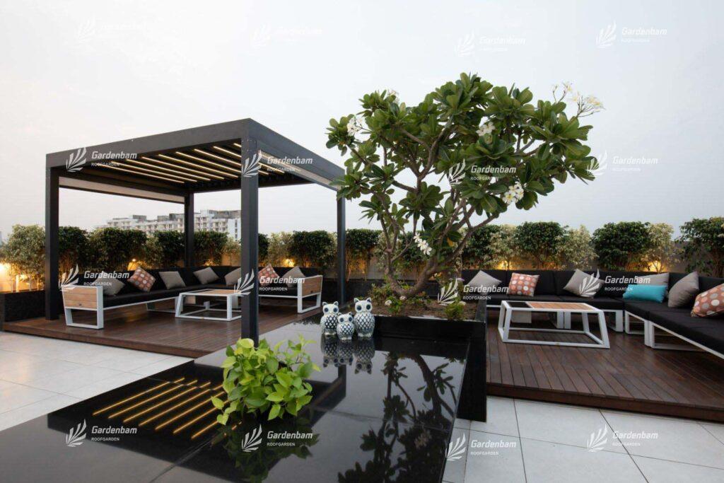 ایده برای ایجاد روف گاردن | روف گاردن در تهران | طراحی و اجرای پروژه روف گاردن در تهران | شرکت گاردن بام | پیمان جمشیدی | ساخت بام سبز مدرن در شهر | اجرای لنداسکیپ | محوطه سازی و فضای سبز