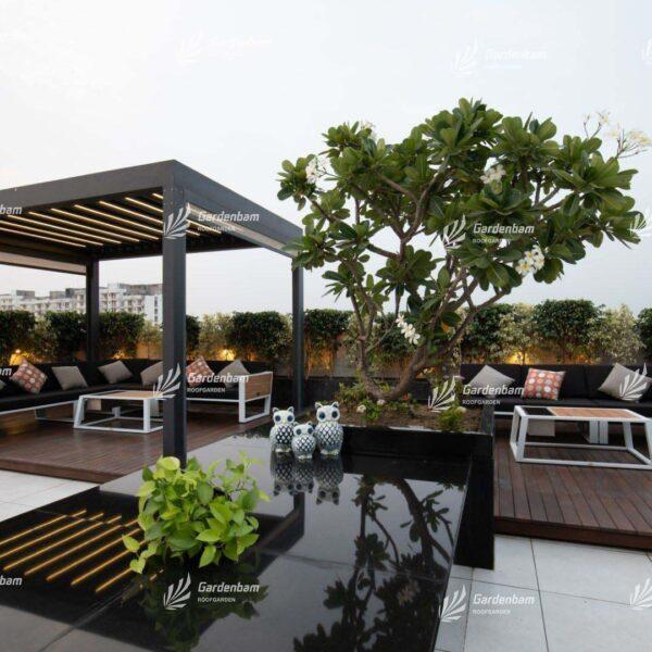 ایده برای ایجاد روف گاردن   روف گاردن در تهران   طراحی و اجرای پروژه روف گاردن در تهران   شرکت گاردن بام   پیمان جمشیدی   ساخت بام سبز مدرن در شهر   اجرای لنداسکیپ   محوطه سازی و فضای سبز